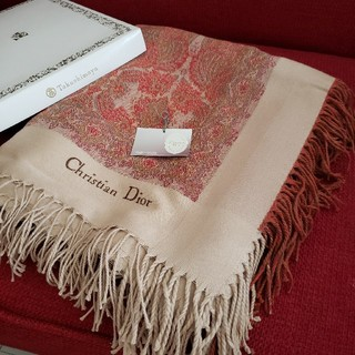 Christian Dior - 専用です♪新品 クリスチャンディオール 大判ストールショール
