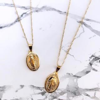 ALEXIA STAM - gold coin necklace