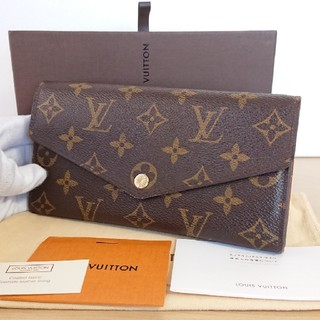 LOUIS VUITTON - 美品 正規品ルイヴィトン 新型 モノグラム ポルトフォイユ サラ 長財布