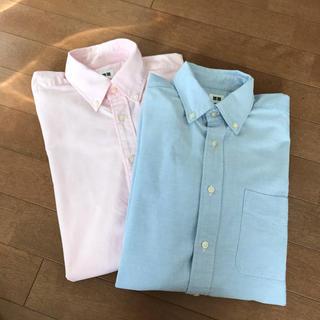 UNIQLO - 【UNIQLO】メンズシャツ 2枚組Sサイズ