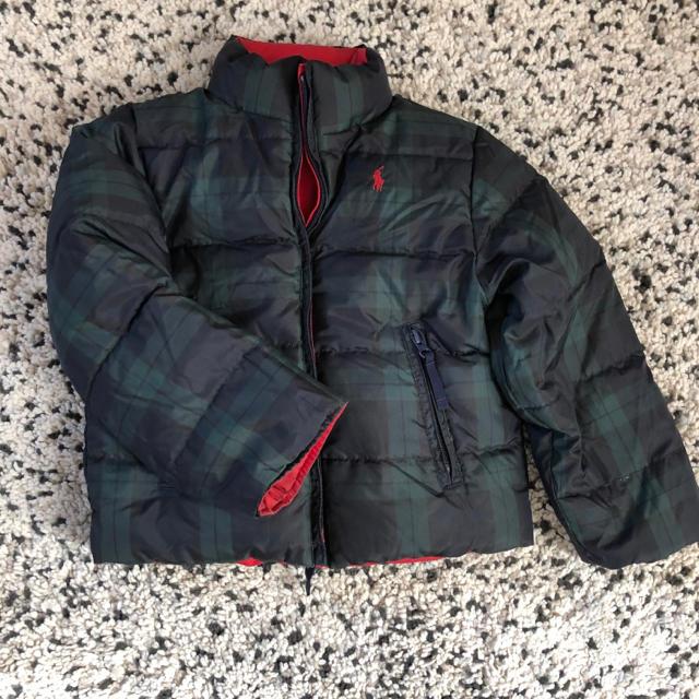 Ralph Lauren(ラルフローレン)のラルフローレン ダウン リバーシブル 110  120 キッズ/ベビー/マタニティのキッズ服 男の子用(90cm~)(ジャケット/上着)の商品写真