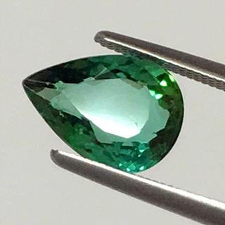 《宝石⚜ルース》極美品✳天然グリーントルマリン 2.383ct 鑑別付(リング(指輪))