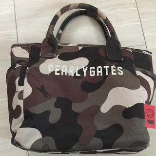 PEARLY GATES - ☆パーリーゲイツ ☆カートバッグ☆ カモ ☆中古☆