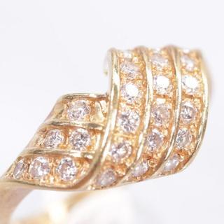 トクトクジュエリー ダイヤモンド 18金 リング(リング(指輪))
