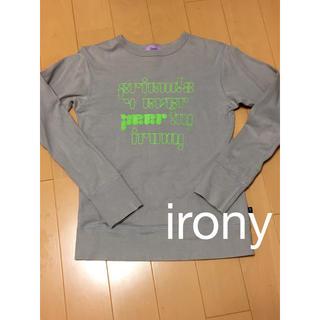 アイロニー(IRONY)のirony 長袖トップス(カットソー(長袖/七分))