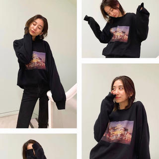 moussy - マウジー moussy LIMITED FILM PULLOVER