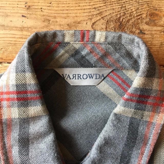VARROWDA チェック シャツ 長袖 レディースのトップス(シャツ/ブラウス(長袖/七分))の商品写真
