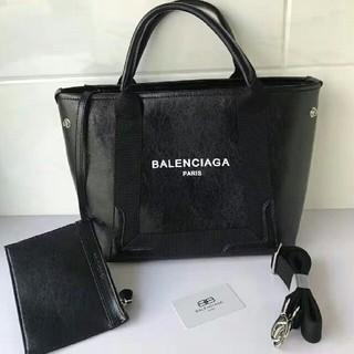Balenciaga - BALENCIAGA バレンシアガ レザートートバッグ ブラック