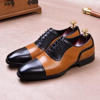 ブーツ レトロ ビジネス革 シューズ フォーマルシューズ 紳士靴メンズDZ631
