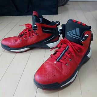 adidas - adidas d rose 6 レッド×ブラック 29.5㎝ バスケ シューズ