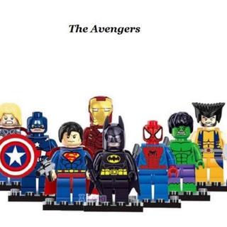 Lego - アベンジャーズ レゴ ミニフィグ デュプロ 8体セット レゴ互換性あり