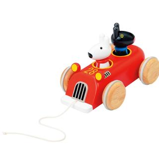 リサとガスパール  木製 レーシングカー