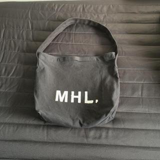 MARGARET HOWELL - 【大人気】MHL トートバッグ 黒 メンズ レディース マーガレットハウエル