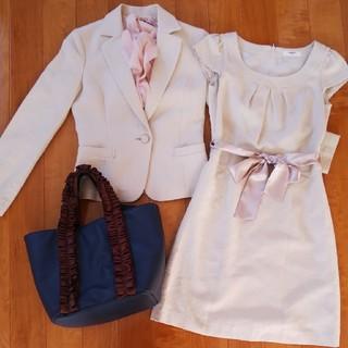 ナチュラルビューティーベーシック(NATURAL BEAUTY BASIC)のNATURAL BEAUTYワンピーススーツ(スーツ)