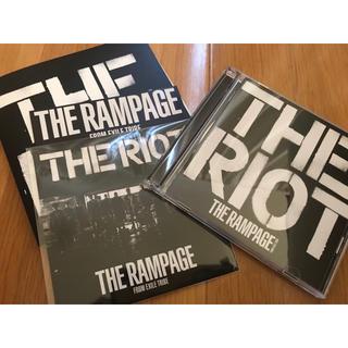 ザランページ(THE RAMPAGE)のTHE RIOT【CD+DVD シリアルコード付き】(ポップス/ロック(邦楽))