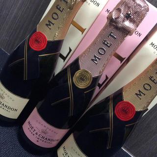 モエエシャンドン(MOËT & CHANDON)のモエ・エ・シャンドン 375ml 3本セット 箱付き(シャンパン/スパークリングワイン)