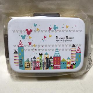ミッキーマウス(ミッキーマウス)のミッキー タウン☆4点ロックランチボックス(弁当用品)