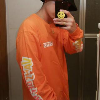 ヴァンズ(VANS)の【画像はイメージです】バンズ ロンT オレンジ(Tシャツ/カットソー(七分/長袖))