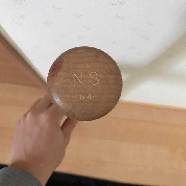 MIZUNO(ミズノ)のミズノプロ   硬式木製バット  スポーツ/アウトドアの野球(バット)の商品写真