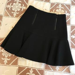 Laula - Laula/ラウラ♡ブラックミニスカート♡日本製♡黒色ウールスカート♡