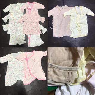 コンビミニ(Combi mini)の新生児 短肌着 長肌着 コンビ肌着 まとめ売り ベビー 出産準備(肌着/下着)
