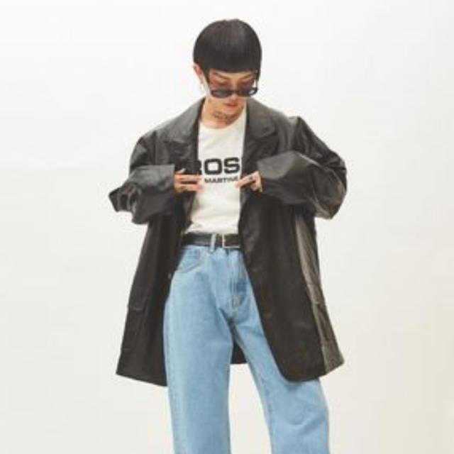 求 open the door レザージャケット メンズのジャケット/アウター(レザージャケット)の商品写真