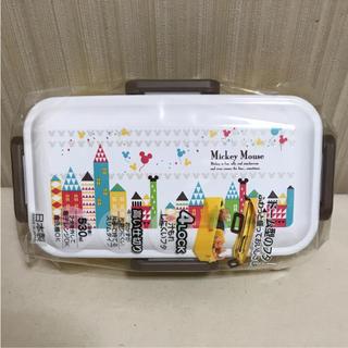 ミッキーマウス(ミッキーマウス)のミッキータウン☆4点ロック ふわっと弁当箱(弁当用品)