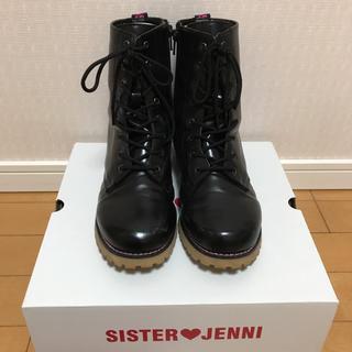 JENNI - Used★JENNI★黒ブーツ(23cm)