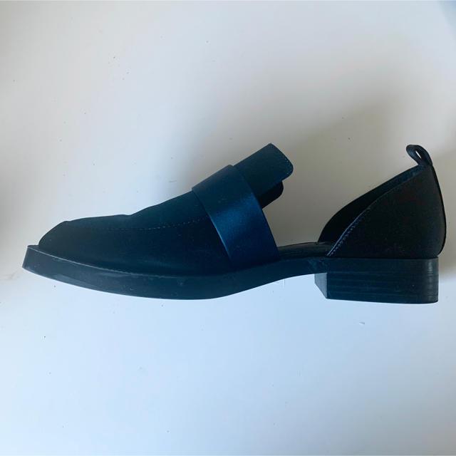 ZARA(ザラ)のローファー サイドオープン レディースの靴/シューズ(ローファー/革靴)の商品写真