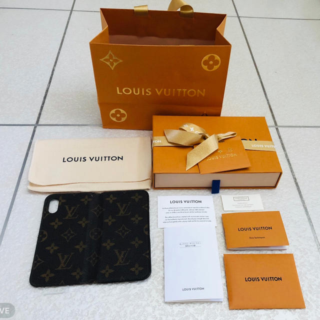 LOUIS VUITTON - ルイヴィトン  iPhoneX&XS の通販