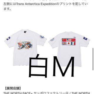 THE NORTH FACE - the north face trans Antarctica tee 白 M
