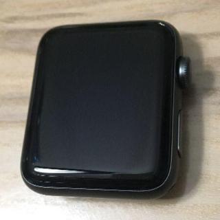 アップルウォッチ(Apple Watch)の[中古 美品] Apple Watch Series 3 42mm GPS(腕時計(デジタル))