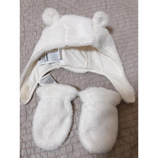 babyGAP - クマ帽子 手袋 GAP
