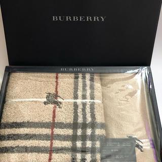 BURBERRY - ★新品★日本製バーバリーギフトタオル綿100%★
