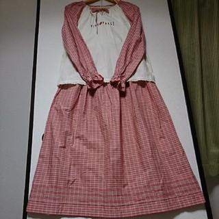 ピンクハウス(PINK HOUSE)の未使用☆ピンクハウス☆スモックブラウス&スカート(ロングスカート)
