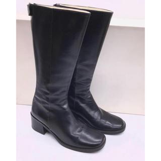 ツモリチサト(TSUMORI CHISATO)の美品ツモリ チサト 本革レザーブーツ(ブーツ)