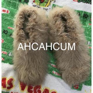 アチャチュムムチャチャ(AHCAHCUM.muchacha)のあちゃちゅむ × ちゃけちょけ コラボ ファー パンプス(ハイヒール/パンプス)