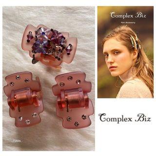 コンプレックスビズ(Complex Biz)の⭐️人気商品⭐️美品 Complex Biz華やかデザートクリップ他3点セット💫(バレッタ/ヘアクリップ)