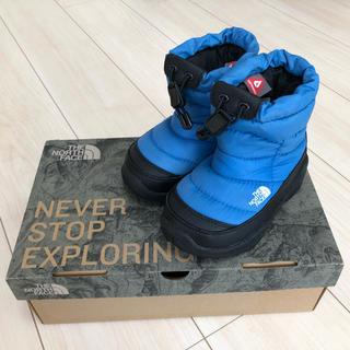 ザノースフェイス(THE NORTH FACE)のザノースフェイス ヌプシ   15.0cm 青(ブーツ)