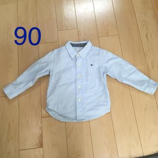 ビーミング ライフストア バイ ビームス(B:MING LIFE STORE by BEAMS)のビーミング ボタンダウンシャツ 90(ブラウス)
