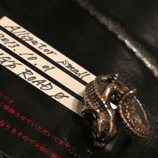 ビルウォールレザー(BILL WALL LEATHER)のBWL ビルウォールレザー アリゲーター ワニ リング 16号(リング(指輪))