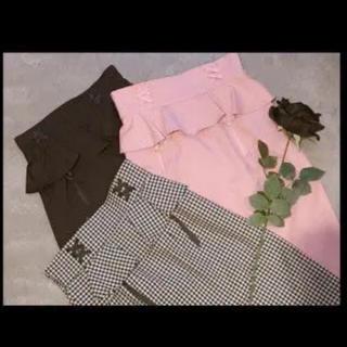 イートミー(EATME)のEATME ペプラムコルセットスカート(ひざ丈スカート)