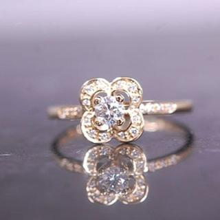 MAUBOUSSIN  モーブッサン ダイヤモンド リング 指輪 K18 YG(リング(指輪))