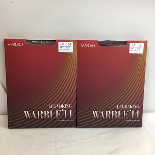 MARUKO - マルコ レッグメイキング ウォーブル ワインレッド 2枚セット