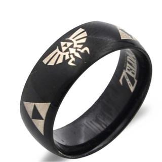 特価高品質!ゼルダの伝説エンブレムリング(艶あり)  10、11号(リング(指輪))