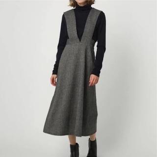 ENFOLD - RIM.ARK ウールジャンパースカート リムアーク