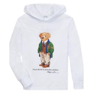 POLO RALPH LAUREN - ★POLO BEAR ★ラルフローレンポロベアフーデッドTシャツ6/120