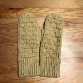 ユニクロ(UNIQLO)の新品未使用 ユニクロ ラムニット 手袋 ONEサイズ(手袋)
