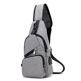 今だけ価格★バッグで携帯充電 ボディバッグ USBポート搭載