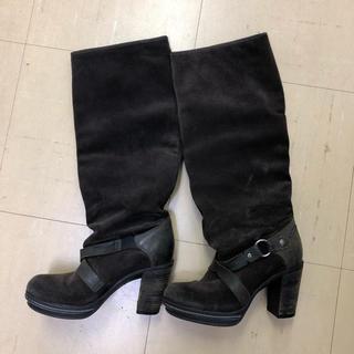 ディーゼル(DIESEL)のディーゼル DIESEL ロングブーツ 黒 サイズ36(ブーツ)